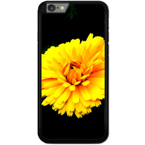 Fits Apple iPhone 6 PLUS & 6S PLUS - Yellow Flower Case Phone Cover Y01629