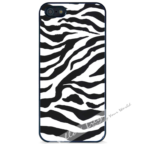 For Apple iPhone 4 4G 4S - Zebra Stripes Case Phone Cover Y01079