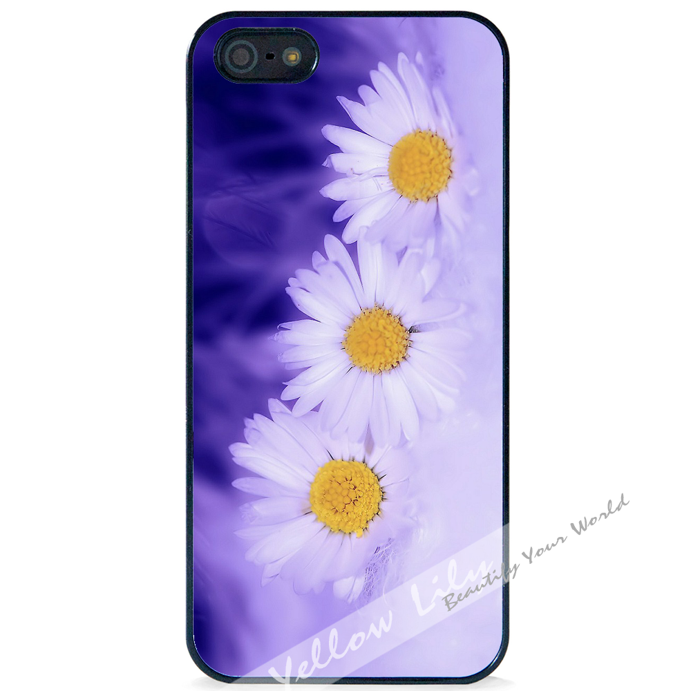 huge selection of 855e4 05c49 For Apple iPhone 5 5G 5S - Mystical Daisy Case Phone Cover Y01338