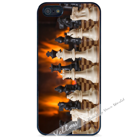 For Apple iPhone 4 4G 4S - Memory of Chess Case Phone Cover Y01496