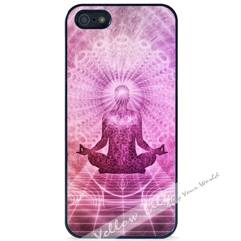 For Apple iPhone 5 5G 5S - Meditation Case Phone Cover Y01498