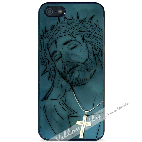 For Apple iPhone 5 5G 5S - Jesus Christ Case Phone Cover Y01499