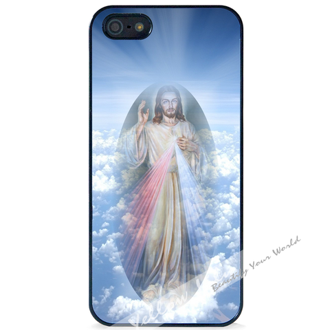For Apple iPhone 5 5G 5S - Jesus Faith Pray Case Phone Cover Y01500