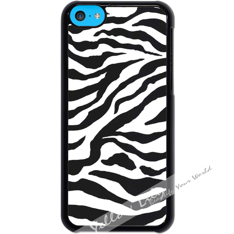 For Apple iPhone 5C - Zebra Stripes Case Phone Cover Y01079