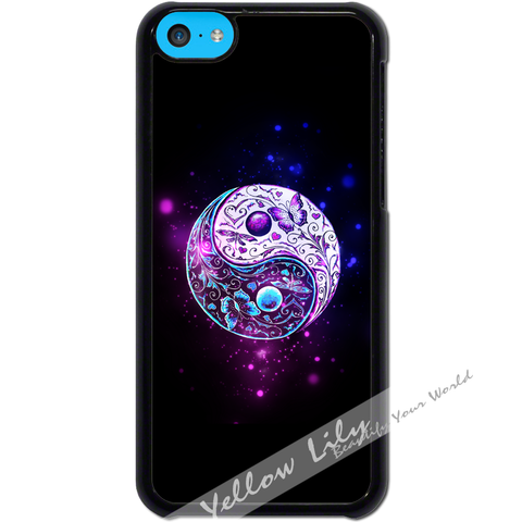 For Apple iPhone 5C - Yin Yang Gorgeous Case Phone Cover Y01093