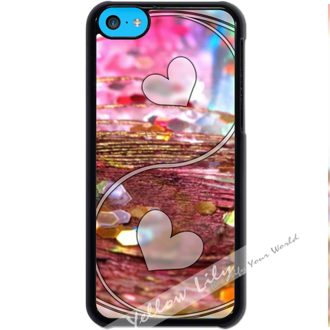 For Apple iPhone 5C - Yin Yang Love Case Phone Cover Y01487