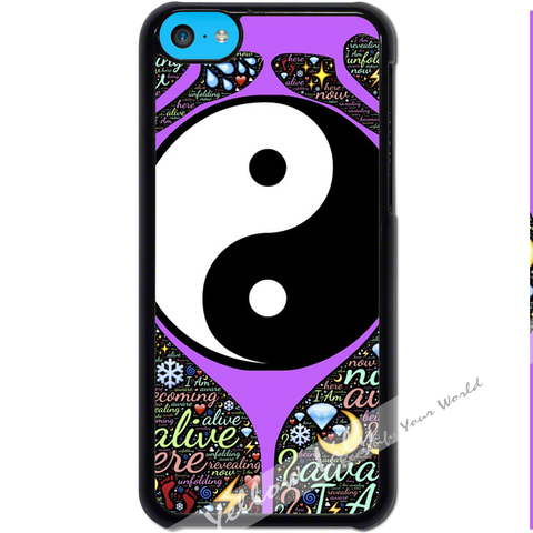 For Apple iPhone 5C - Yin Yang Prayer Case Phone Cover Y01489