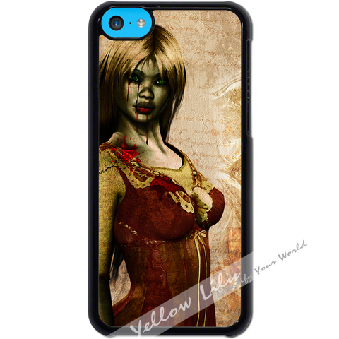 For Apple iPhone 5C - Zombie Mistress Case Phone Cover Y01494