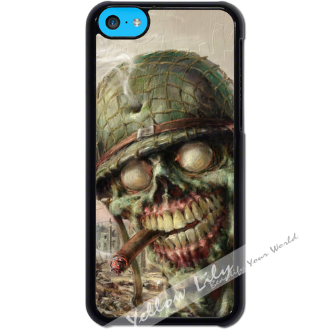 For Apple iPhone 5C - Zombie Soldier Case Phone Cover Y01495
