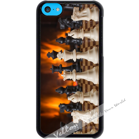 For Apple iPhone 5C - Memory of Chess Case Phone Cover Y01496