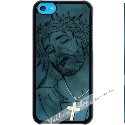For Apple iPhone 5C - Jesus Christ Case Phone Cover Y01499