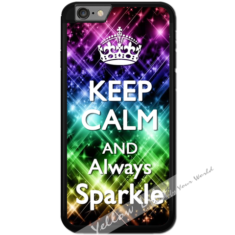 Fits Apple iPhone 6 & 6S - Always Sparkle Case Phone Cover Y01016