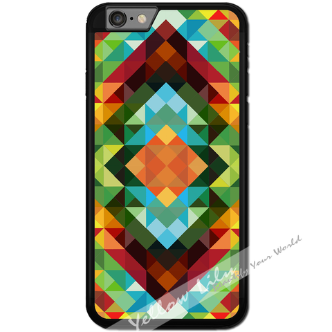 Fits Apple iPhone 6 & 6S - African Triangles Case Phone Cover Y01018