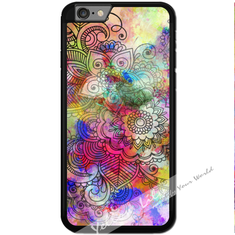 Fits Apple iPhone 6 & 6S - Artistic Layers Case Phone Cover Y01095