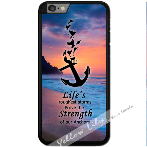 Fits Apple iPhone 6 & 6S - Anchor Strength Case Phone Cover Y01103