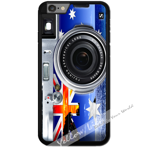 Fits Apple iPhone 6 & 6S - AUS Flag Camera Case Phone Cover Y01136