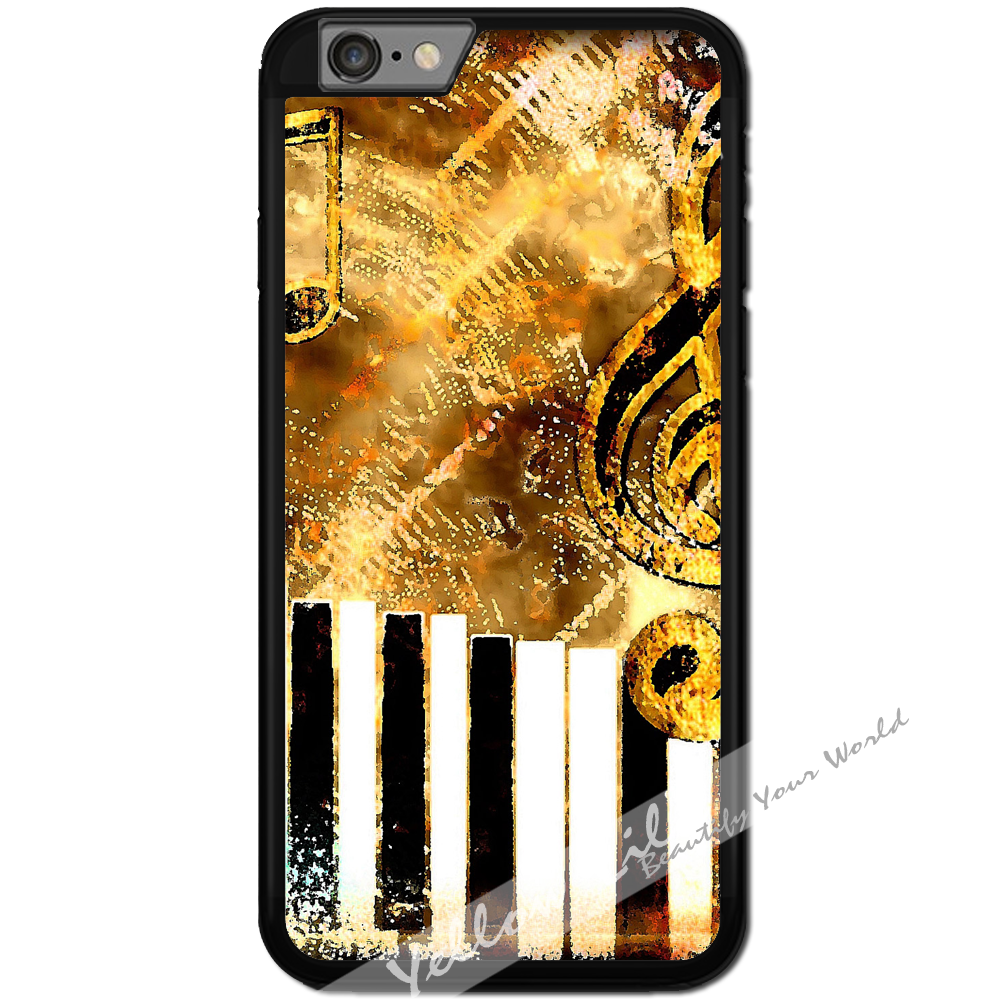 Fits Apple iPhone 6 & 6S - Abstract Music Case Phone Cover Y01182
