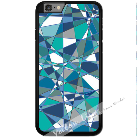 Fits Apple iPhone 6 & 6S - Abstract Teal Case Phone Cover Y01184