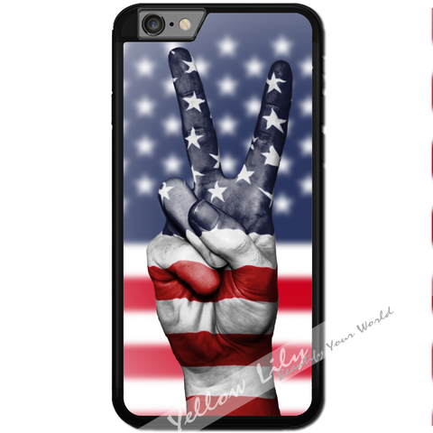 Fits Apple iPhone 6 & 6S - America Peace Case Phone Cover Y01185