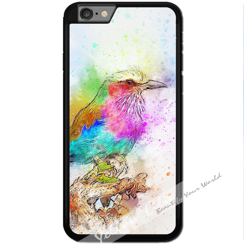 Fits Apple iPhone 6 & 6S - Artistic King Fisher Case Phone Cover Y01190