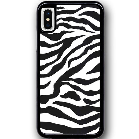 Fits Apple iPhone X - Zebra Stripes Case Phone Cover Y01079