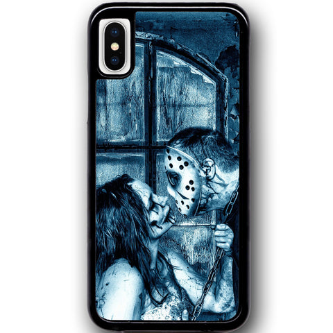 Fits Apple iPhone X - Zombie Love Case Phone Cover Y01493