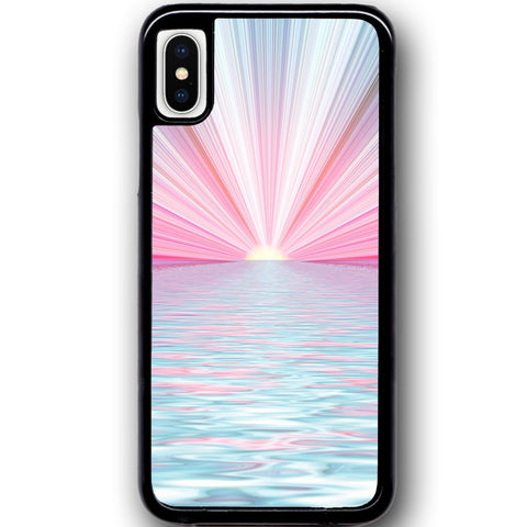 Fits Apple iPhone X - Artificial Rays Case Phone Cover Y01582