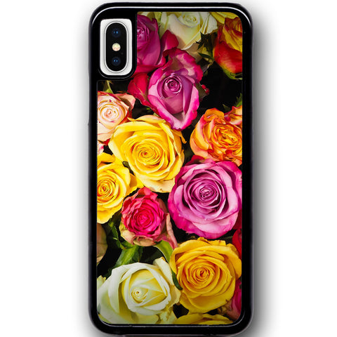 Fits Apple iPhone X - Rose Heaven Case Phone Cover Y01609