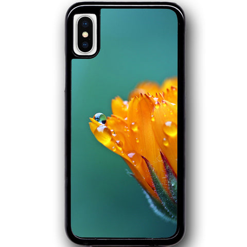 Fits Apple iPhone X - Marigold Blossom Case Phone Cover Y01618