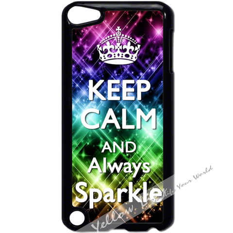 For Apple iPod Touch 5 - Always Sparkle Case Phone Cover Y01016