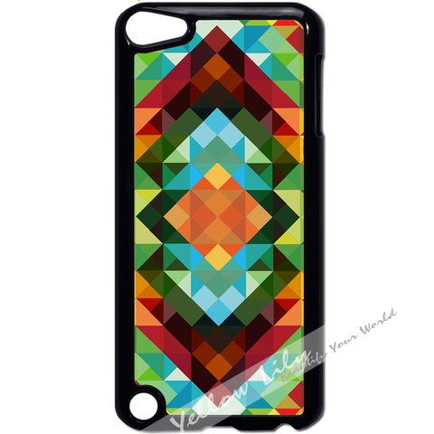 For Apple iPod Touch 5 - African Triangles Case Phone Cover Y01018