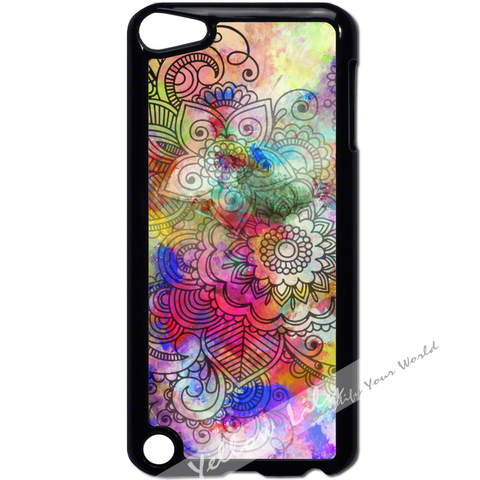 For Apple iPod Touch 5 - Artistic Layers Case Phone Cover Y01095