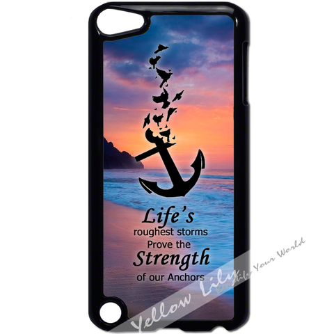 For Apple iPod Touch 5 - Anchor Strength Case Phone Cover Y01103