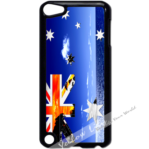 For Apple iPod Touch 5 - Australia Flag Art Case Phone Cover Y01132