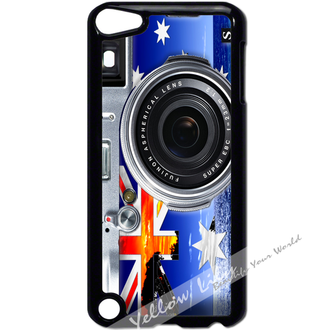 For Apple iPod Touch 5 - AUS Flag Camera Case Phone Cover Y01136