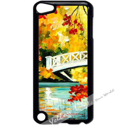 For Apple iPod Touch 5 - Autumn Bridge Case Phone Cover Y01167