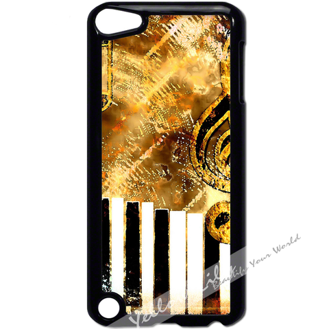 For Apple iPod Touch 5 - Abstract Music Case Phone Cover Y01182