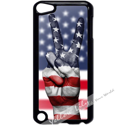 For Apple iPod Touch 5 - America Peace Case Phone Cover Y01185