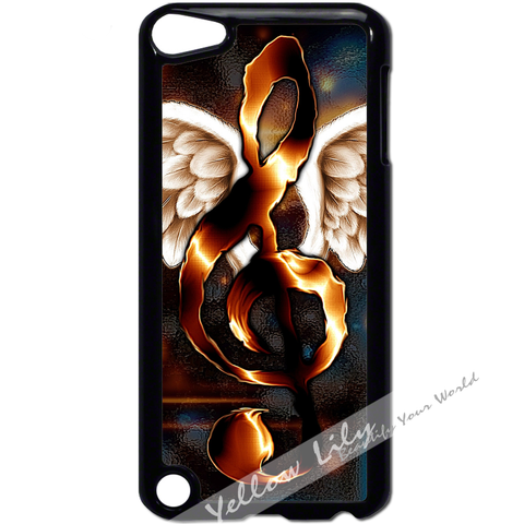 For Apple iPod Touch 5 - Angel Wings Music Case Phone Cover Y01187
