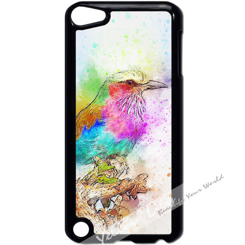 For Apple iPod Touch 5 - Artistic King Fisher Case Phone Cover Y01190