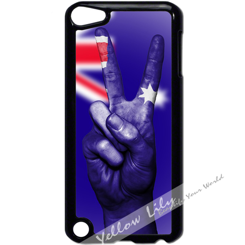 For Apple iPod Touch 5 - Australian Peace Case Phone Cover Y01193