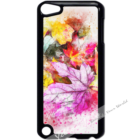For Apple iPod Touch 5 - Autumn Leaves Case Phone Cover Y01194