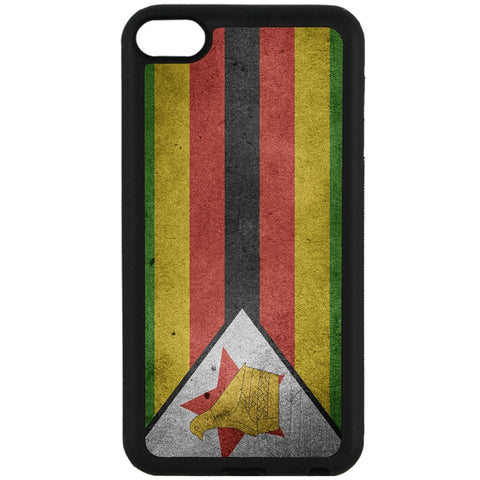 For Apple iPod Touch 6 - Zimbabwe Flag Case Phone Cover Y00185