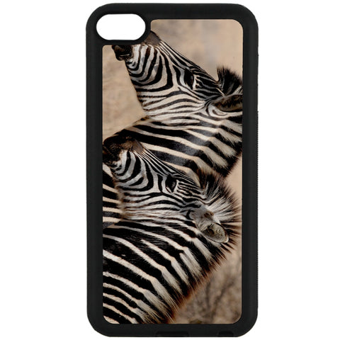 For Apple iPod Touch 6 - Zebra Baby Mum Case Phone Cover Y00362