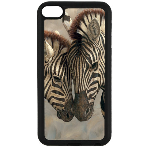 For Apple iPod Touch 6 - Zebra Love Baby Case Phone Cover Y00369