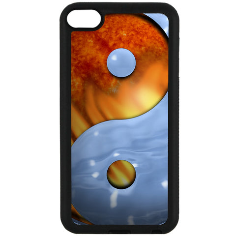 For Apple iPod Touch 6 - Ying Yang Fire Ice Case Phone Cover Y00949