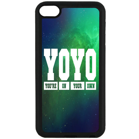 For Apple iPod Touch 6 - YOYO Saying Case Phone Cover Y00951
