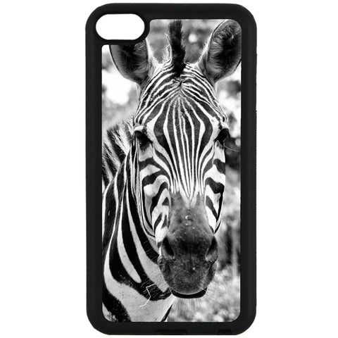 For Apple iPod Touch 6 - Zebra Real Case Phone Cover Y01056