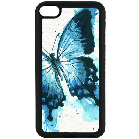 For Apple iPod Touch 6 - Watercolor Butterfly Case Phone Cover Y01083