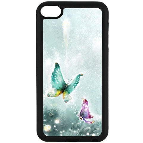 For Apple iPod Touch 6 - Fairy Butterfly Case Phone Cover Y01086